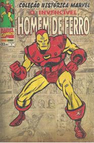 Colecao Historica Marvel 3 Homem De Ferro Bonellihq Cx43 E19