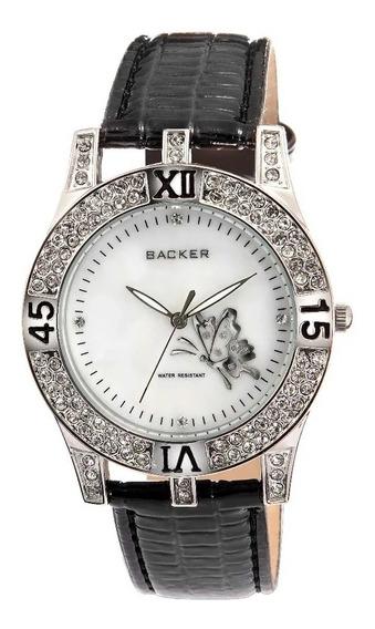 Relógio Backer Feminino 1650122f Original Barato