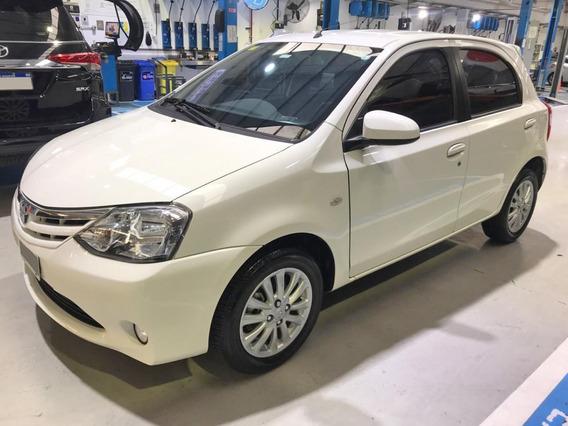 Toyota Etios Xls 2014 Caja Manual Blanco Impecable