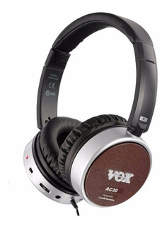 Auriculares Vox Amphones Ac30 Activos Para Guitarra Envios