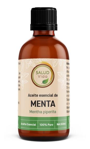 Aceite Esencial De Menta 100% Pura Y Natural 59ml Envío Inc.