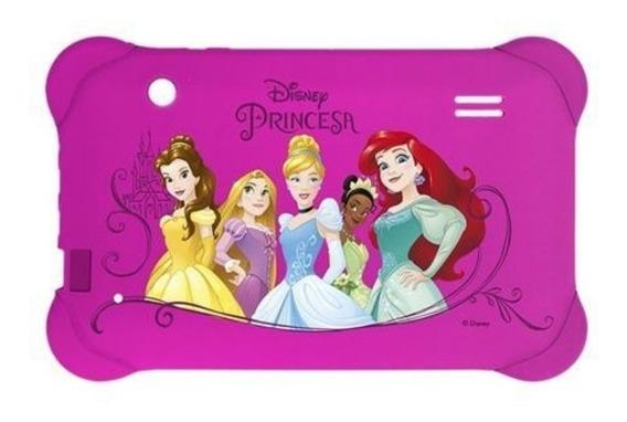 Capa Emborrachada Para Tablet 7 Polegada Princesa Multilaser