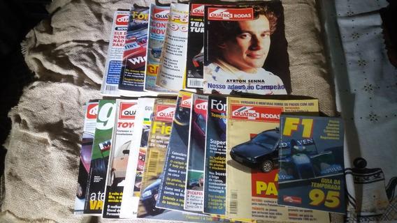 Lote De Revista Antiga 4 Rodas E Guia Formula 1
