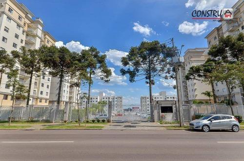 Apartamento Com 3 Dormitórios À Venda, 68 M² Por R$ 358.000,00 - Guaíra - Curitiba/pr - Ap0289