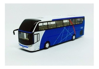 Miniatura Ônibus De Turismo C/ Luz California Action 1:50