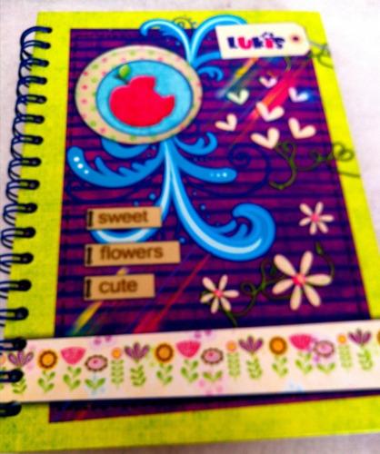 Cuaderno 5 Materias Lukis De Mujer Pequeño