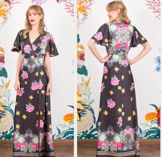 Vestido Floreira Antix