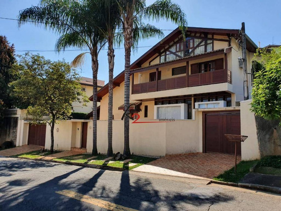 Casa A Venda, Condomínio Alto Das Palmeiras, Gramado, Campinas. - Ca0287