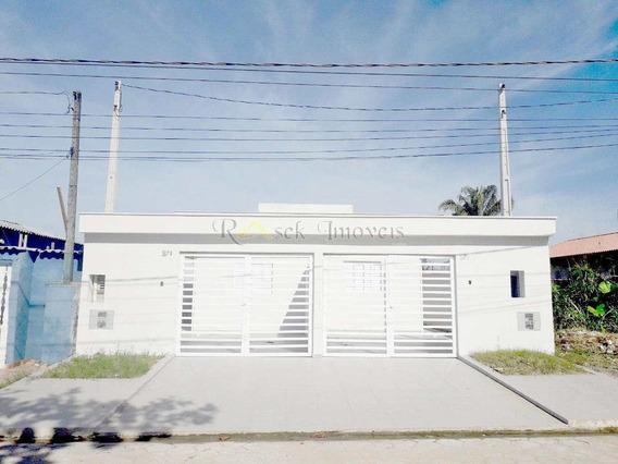 Casas Novas A 800m Da Praia Em Itanhaém - Cod: 78 - V78