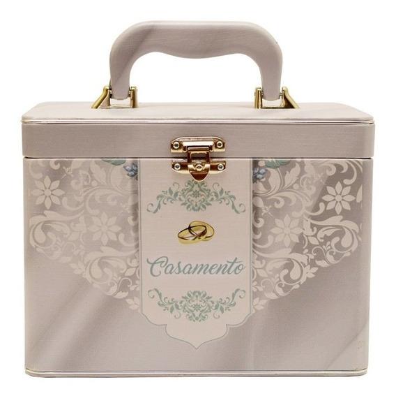 Álbum Fotográfico Maleta Box Luxo Casamento 240 Fotos 13x18