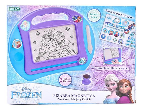 Pizarra Magnética Grande Frozen Original Ditoys
