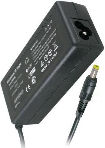 10 Fonte Carregador Notebook Hp 18,5v 3,5a Plug Amarelo
