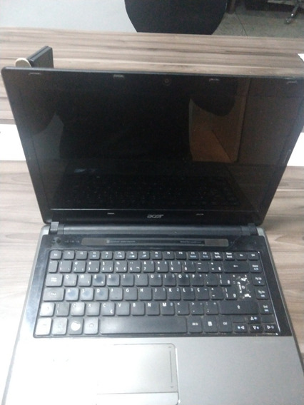 Notebook Acer Aspire Veja Descrição.