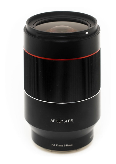 Rokinon Fe 35mm F1.4 Af Sony Fe Atualizada R$3600 À Vista