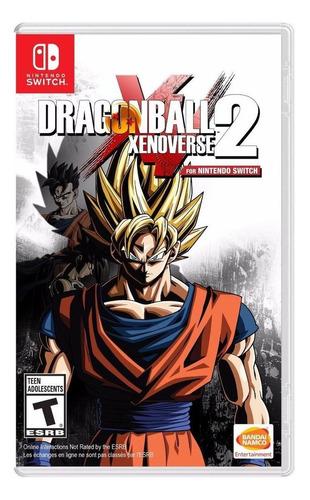 Imagem 1 de 1 de Dragon Ball Xenoverse 2 Switch Mídia Física Novo Lacrado