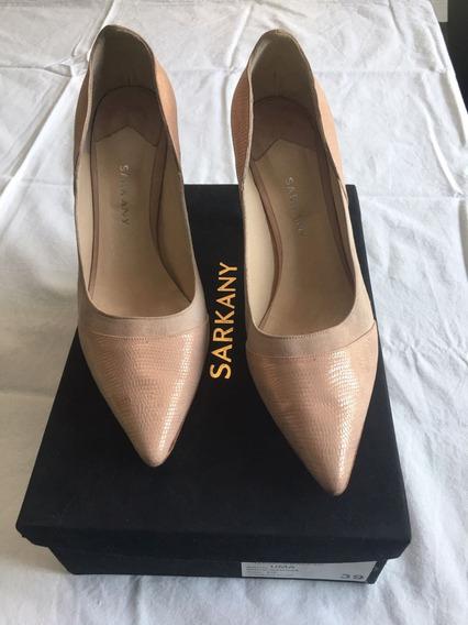 Zapatos Ricky Sarkany Estiletos Color Nude Talle 39
