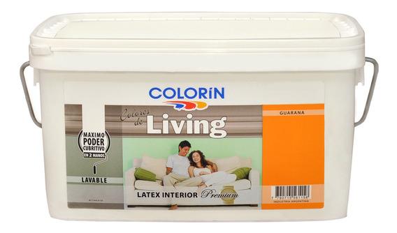 Colorin Living Pintura Latex Interior Colores 4 Lts Rex