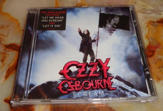 Ozzy Osbourne - Scream - Cd Nuevo Cerrado