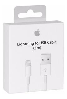 Cable Lightning 2m Cargador Original iPhone 8 7 Plus 6s 6 5s