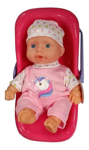Muñeca Bebe Bebote Poppi Con Huevito 20 Cm 28068 Educando