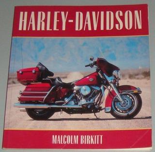 Motos - Livro Harley-davidson ( Inglês )