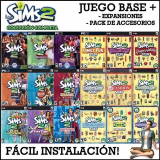 ¡oferta Especial! The Sims 2 + The Sims 3- Full Pc