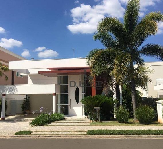 Casa Com 5 Dormitórios À Venda, 380 M² Por R$ 2.650.000,00 - Alphaville Dom Pedro - Campinas/sp - Ca12423