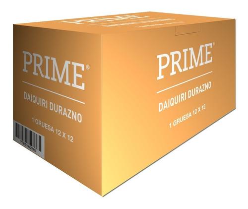 Preservativos Prime Saborizado X144 Sabor Daiquiri Durazno