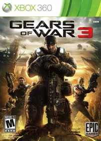 Gears Of War 3 Xbox 360 Original Frete R$12 Xbox One