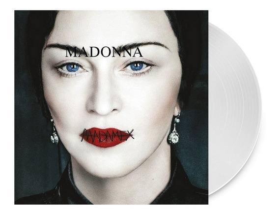 Lp Madonna - Madame X Limited Clear Disc - Importado