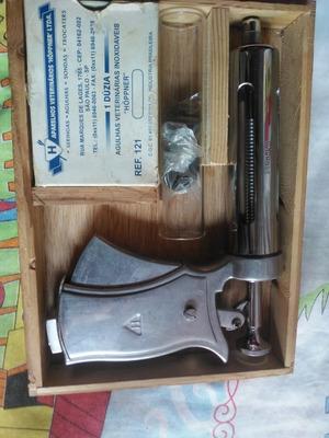 Pistola Seringa De Boi