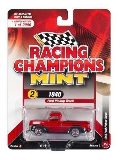 Ford Pickup Truck 1940 - 2018 R3 Set B Racing Champions 1:64