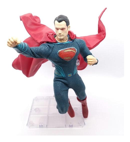Acessórios 1/12 Roupas-capa Vermelha Para Mezco Superman Bvs