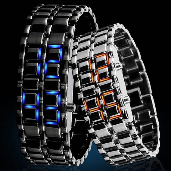 Relógio Pulseira Unisex Led Digital Masculino Feminino Luxo