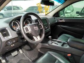 Dodge Durango 3.6 Crew 4x4 Blindada 2013 Preta Gasolina