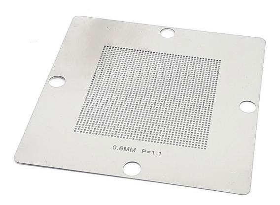 Stencil Bga Universal 0.6mm P=1.1 80x80mm