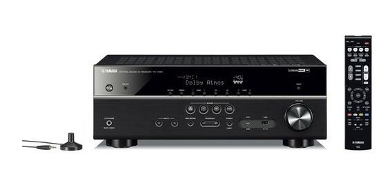 Receiver Yamaha Rx-v585 7.2 Av Ultra Hd 4k Wi-fi Bluetooth