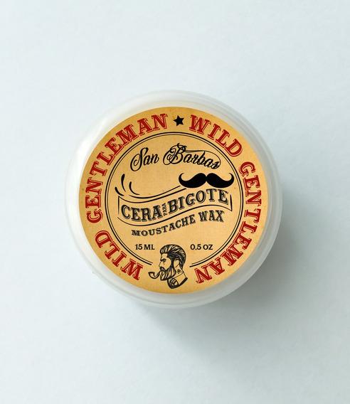 Cera Para Bigote 3 Aromas San Barbas De 15ml. Moustache Wax
