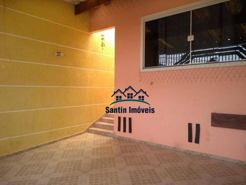 Casa Com 2 Dormitórios À Venda, 125 M² Por R$ 320.000,00 - Sítio Dos Vianas - Santo André/sp - Ca0182