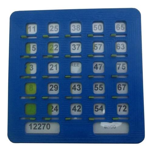 10 Cartones Plásticos Para Bingo Tablas De Bingo Profesional