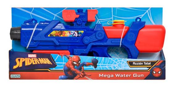 Spiderman Mega Pistola De Agua Water Gun Ditoys