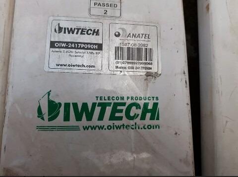 Antena Omni 2417p090h Com Suportes Pra Haste