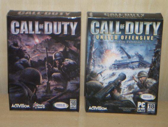 Call Of Duty 1 + Call Of Duty - United Offensive - Pc