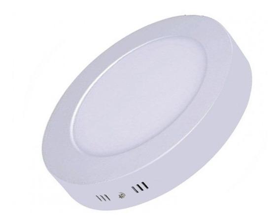 Luminária Plafon Led 18w Sobrepor Redonda - Luxtek