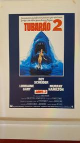 Cartazete Original Filme Tubarão 2 Raro