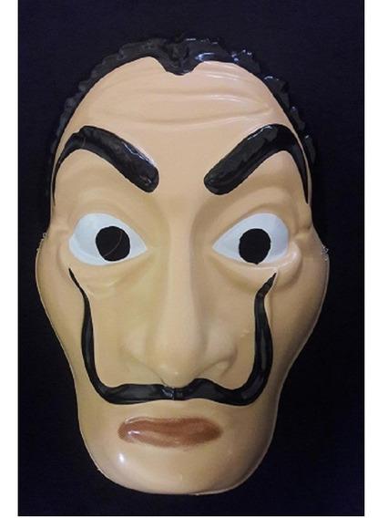 Mascara Careta La Casa De Papel. Dali . Plastica X 30