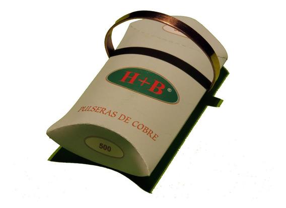 Pulseras De Cobre H + B - Clásica - Anti Reuma Y Artrosis