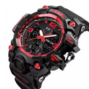 Relógio Masculino Skmei 1155b C/ Caixa Estilo G Shock Top