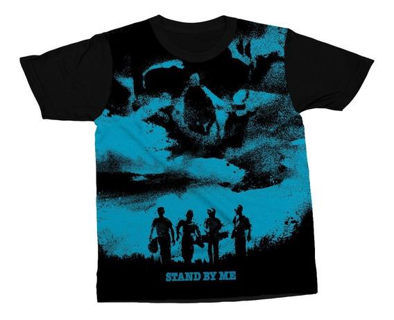 Camiseta Stand By Me Filme Clássico Conta Comigo Camisa