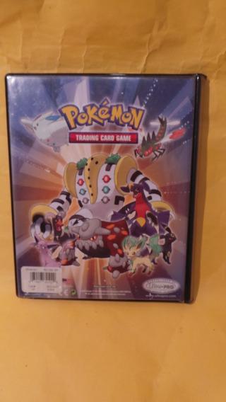 Álbum Pokemon Trading Card Game Com 14 Folhas Ultrapro S/uso